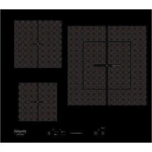 Индукционная варочная панель Hotpoint-Ariston KIS 630 XLD B индукционная стеклокерамическая варочная поверхность sim571b скошенный край smeg