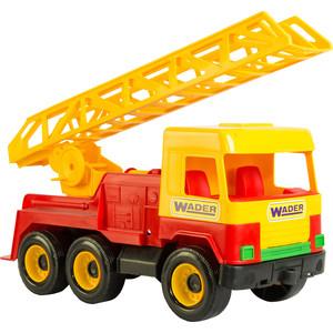 Машинка Тигрес Middle truck пожарная (39225) пламенный мотор машинка инерционная volvo пожарная охрана
