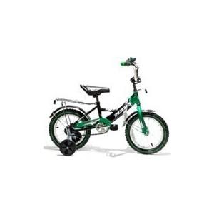 Велосипед Mars 14 чёрно/зеленый (С1401) велосипед geuther велосипед my runner серо зеленый