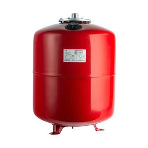 Расширительный бак STOUT для систем отопления со сменной мембраной с ножками (красный) (STH-0006-000100)