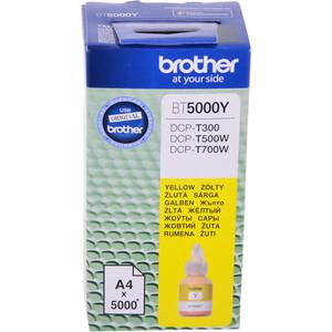 Чернила Brother BT5000Y картридж струйный brother bt5000y желтый