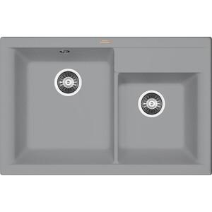 Мойка кухонная Florentina Касси 780 грей FSm (20.230.E0780.305) кухонная мойка ukinox comfort cop 780 480 gt6k левая