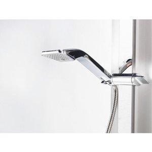 Душевая система IDO Showerama 8-5 белая с серебристой стойкой (4985018001) поло синее с принтом ido ут 00004176