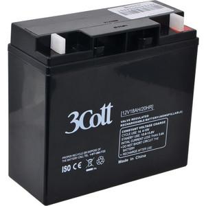 все цены на Батарея 3Cott 12V18Ah