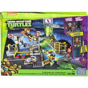 Mattel Mega bloks Черепашки ниндзя: логово злодеев (DMX55) mega bloks mattel черепашки малыши маленький игровой набор