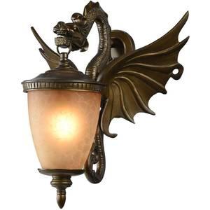 Уличный настенный светильник Favourite 1717-1W серьги с кошачьим глазом лель снкг 1717