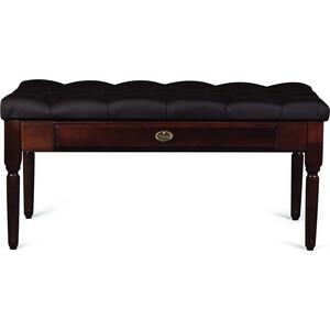 Банкетка Мебелик Оливия эко-кожа коричневый/темно-коричневый jd коллекция дефолт 16k160 эту страницу кожа коричневый