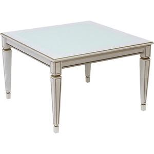 Стол журнальный Мебелик Васко В 80С белый ясень письменный стол васко соло 021