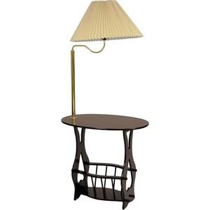Столик журнальный со встроенным светильником Мебельторг Торшер 1695W