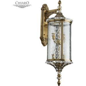Уличный настенный светильник Chiaro 802021004 уличный настенный светильник chiaro мидос 802020606