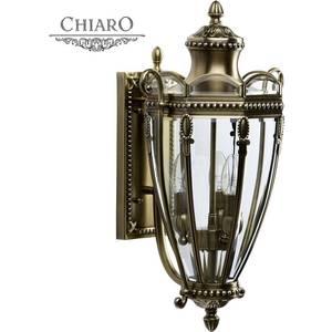Уличный настенный светильник Chiaro 802020903 уличный настенный светильник chiaro мидос 802020606