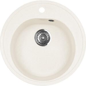 Мойка кухонная AquaGranitEx M-08 505х505 белый (M-08 331) zhengbao белый m