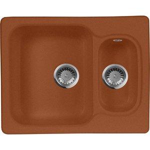 Мойка кухонная AquaGranitEx M-09 610х495 терракот (M-09 307) 09 tadzio