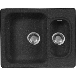 Мойка кухонная AquaGranitEx M-09 610х495 черный (M-09 308) cottelli m