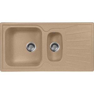 Мойка кухонная AquaGranitEx M-09K 940х495 песочный (M-09K 302) cottelli m