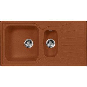 Мойка кухонная AquaGranitEx M-09K 940х495 терракот (M-09K 307) cottelli m