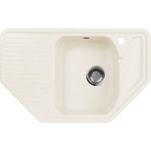 Мойка кухонная AquaGranitEx M-10 795х495 белый (M-10 331) настенные часы nicole time nt306