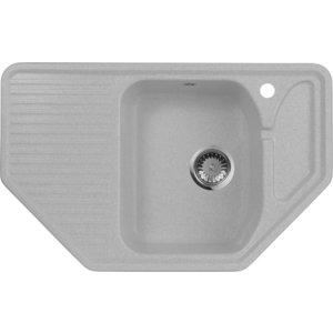 Мойка кухонная AquaGranitEx M-10 795х495 серый (M-10 310) мойка кухонная aquagranitex m 17 420х485 серый m 17 310