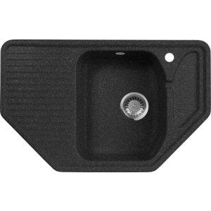 Мойка кухонная AquaGranitEx M-10 795х495 черный (M-10 308) tcrt5000 reflective infrared sensor photoelectric switches 10 pcs