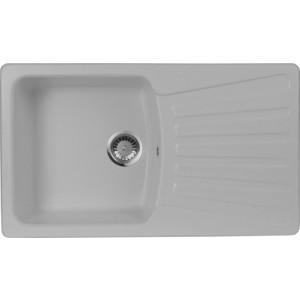 Мойка кухонная AquaGranitEx M-12 840х490 серый (M-12 310)