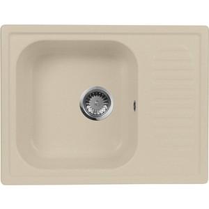 Мойка кухонная AquaGranitEx M-13 645х495 бежевый (M-13 328) aquagranitex 13 white