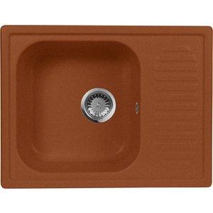 Мойка кухонная AquaGranitEx M-13 645х495 терракот (M-13 307)