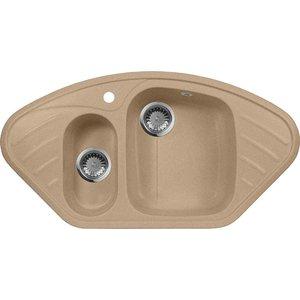 Мойка кухонная AquaGranitEx M-14 950х500 песочный (M-14 302) cottelli m