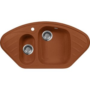 Мойка кухонная AquaGranitEx M-14 950х500 терракот (M-14 307) jisuxg 14