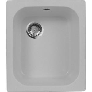 Мойка кухонная AquaGranitEx M-17 420х485 серый (M-17 310) кухонная мойка aquagranitex m 17 420х485 светло розовый m 17 311