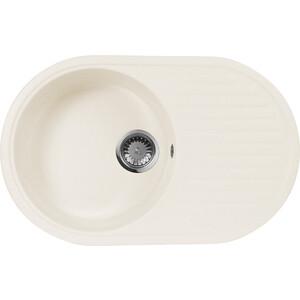 Мойка кухонная AquaGranitEx M-18 730х460 белый (M-18 331) zhengbao белый m