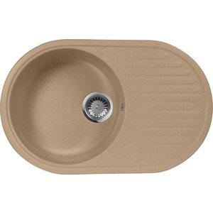 Мойка кухонная AquaGranitEx M-18 730х460 песочный (M-18 302) мойка кухонная aquagranitex m 17 420х485 песочный m 17 302