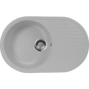 Мойка кухонная AquaGranitEx M-18 730х460 серый (M-18 310) мойка кухонная aquagranitex m 17 420х485 серый m 17 310