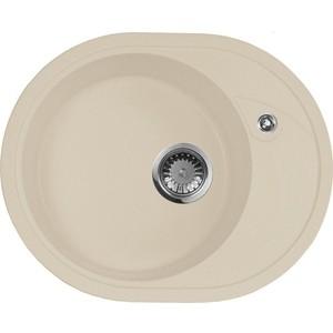Мойка кухонная AquaGranitEx M-18L 570х460 бежевый (M-18L 328) mobil 600xp68 100 150 220 320 460 680 18l