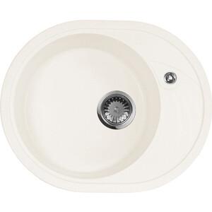Мойка кухонная AquaGranitEx M-18L 570х460 белый (M-18L 331) cottelli m