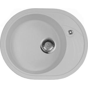 Мойка кухонная AquaGranitEx M-18L 570х460 серый (M-18L 310) мойка кухонная aquagranitex m 17 420х485 серый m 17 310
