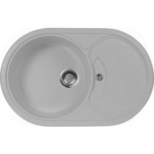 Мойка кухонная AquaGranitEx M-18S 780х500 серый (M-18S 310) кольца proms от 18s с позолоченными кольцами из 18s с бриллиантами
