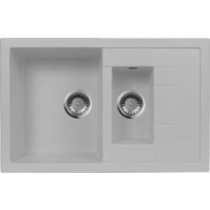 Мойка кухонная AquaGranitEx M-21K 780х500 серый (M-21K 310)