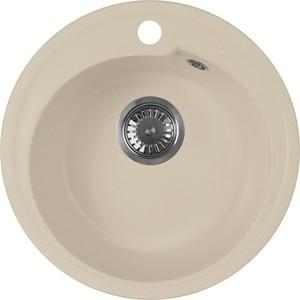 Мойка кухонная AquaGranitEx M-45 440х440 бежевый (M-45 328) мойка кухонная teka cabrera 45 b tg бежевый 88999