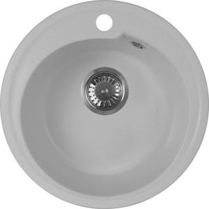Мойка кухонная AquaGranitEx M-45 440х440 серый (M-45 310) мойка кухонная aquagranitex m 17 420х485 серый m 17 310