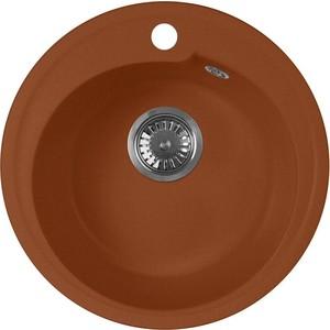 Мойка кухонная AquaGranitEx M-45 440х440 терракот (M-45 307) sturman f36050 m