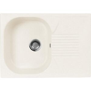 Мойка кухонная AquaGranitEx M-70 690х490 белый (M-70 331) zhengbao белый m