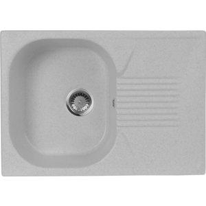 Мойка кухонная AquaGranitEx M-70 690х490 серый (M-70 310) мойка кухонная aquagranitex m 17 420х485 серый m 17 310