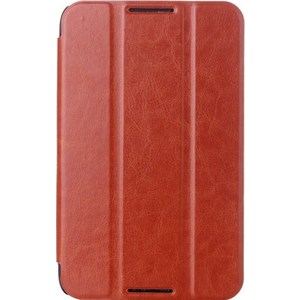 Чехол skinBOX для Lenovo A3300 Slim Case Brown (P-S-La3300-001)