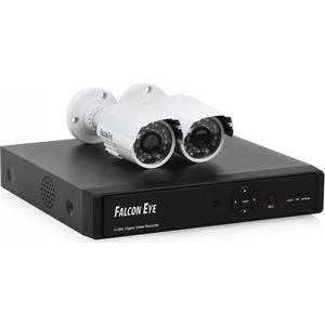 Комплект видеонаблюдения Falcon Eye FE-104AHD KIT Light falcon eye fe ve02 silver видеоглазок