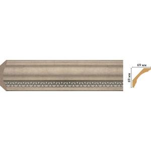 Плинтус Decomaster Эрмитаж цвет 59 69х69х2400 мм (100C-59) decomaster декоративная панель decomaster b20 1084 200х9х2400мм