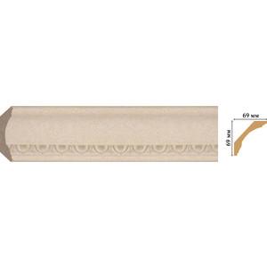Плинтус Decomaster Ионика цвет 18D 69х69х2400 мм (100D-18D) настенное бра globo caliban 67050 18d