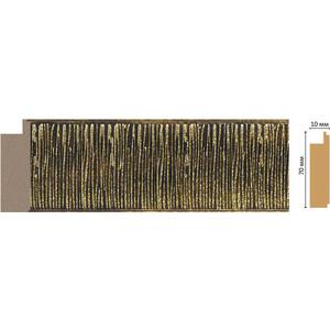 Молдинг Decomaster Перламутр цвет 28 70х10х2400 мм (108-28)