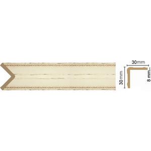 Угол Decomaster Бежевый антик цвет 1028 30х30х2400 мм (116-1028)