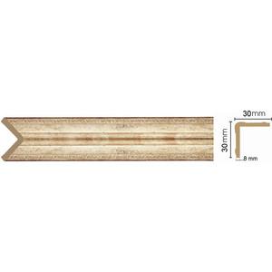 Угол Decomaster Венецианская бронза цвет 127 30х30х2400 мм (116-127)
