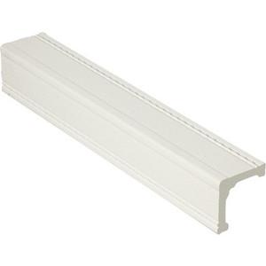 Угол Decomaster Белый матовый цвет 16 30х30х2400 мм (116-16)